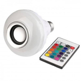 Lâmpada Bluetooth LED Music Bulb Wjl2